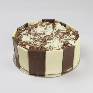 Black + White Gateaux – Round